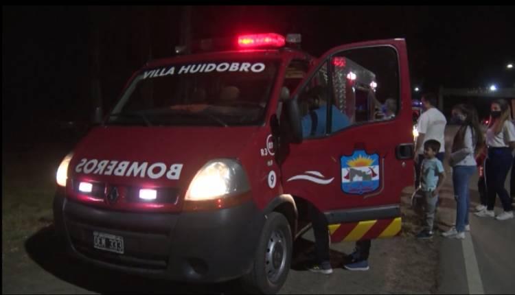 BOMBEROS VOLUNTARIOS: ARRIBO LA NUEVA UNIDAD DE RESCATE