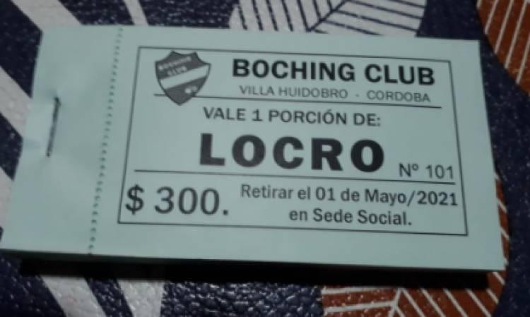 EL BOCHING PREPARA EL TRADICIONAL LOCRO DEL 1° DE MAYO