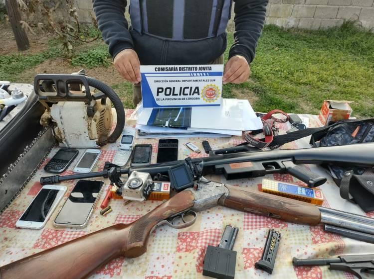 GRAN OPERATIVO DE LA POLICIA DEPARTAMENTAL ESCLARECE DELITOS RURALES